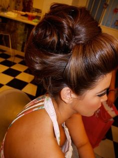 Awesome Brown Homecoming and Prom Hairstyle - Homecoming Hairstyles 2014