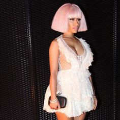 Get inspired by Nicki Minaj, Kylie Jenner, Bella Hadid and more rocking fall's new accessory: the wig.
