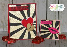 Scrappin with my bug Valentine Bingo, Valentines Day, Heart Cards, Card Kit, Bugs, Card Making, Scrap, Cutting Files, Silhouette