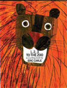 1 2 3 To the Zoo  Eric Carle Tissue Paper Crafts