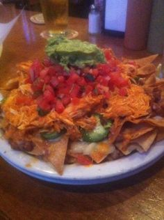 nachos with chicken at The Taco Shop @ Underdogs in San Francisco