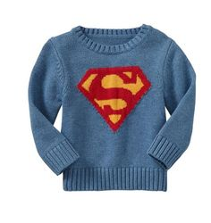 Superman sweater!