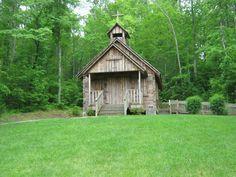 Chapel in Tuttle Park in Lenoir, NC