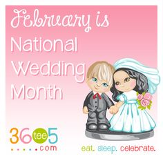 February is National Wedding Month List Of All Holidays, Wacky Holidays, Special Day Calendar, February Month, Family Guy, Celebrities, Fictional Characters, Friendship, Wedding Ideas