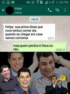 Quem perdoa é Deus!  Fatio passo manteiga é bola pra dentro.  The post Quem perdoa é Deus! appeared first on Le Ninja.