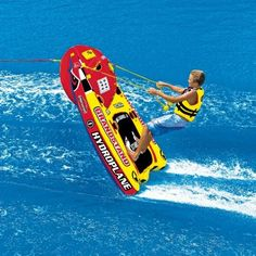 Grandstand Towable Tube Raft for 1 Rider #TowableTubes #PoolBeach #CozyDays