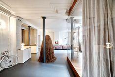 Parisian Apartment by CUT Architects are Unique and Memorable