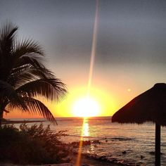 Sunrise in the ROO, Akumal, Riviera Maya