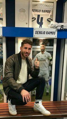 Ramos Real Madrid, Real Madrid Shirt, Ramos Haircut, Real Madrid Captain, Cristino Ronaldo, Captain Fantastic, Real Madrid Players, Best Football Team, Football Wallpaper