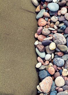 beach stones, 5x7, rocks, Margaree Harbour, Cape Breton Island, Nova Scotia, Canada, green, purple, pink, blue, fine art photography
