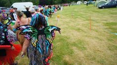 Thee Faery parade to attempt to break a Faery record! 3 wishes Faery Festival 2015!
