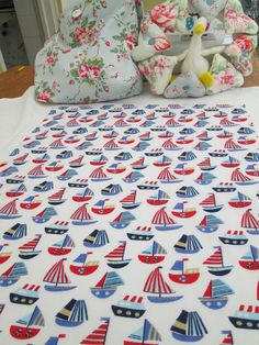 BN Very Lovely Nautical Vintage Haberdashery Cotton Remnants For Crafts