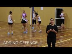 NETBALL DRILL: KELSEY BROWNE'S SPLIT AND HIT - YouTube