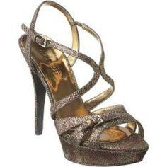 Nine West Bronze Party Shoes - $29.00