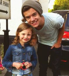 Harry and a young fan