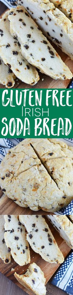 Gluten Free Irish Soda Bread from What The Fork Food Blog | http://whattheforkfoodblog.com