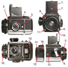 Zenza Bronica S2 SLR medium format camera-manual #imagescameras