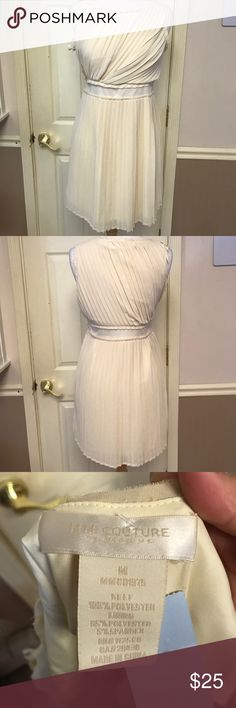 MM Couture by Miss Me Dress MM Couture cream dress sz M MM Couture Dresses