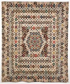 Mary Prince Mosaic Coverlet.  Maker:Prince, Mary Date:1803 - 1815