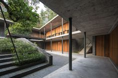 Veranda Courthouse, Ghangzhou, China, by O-office Architects