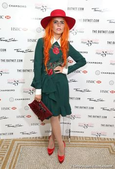 Paloma Faith spotted at Marie Claire's 25th birthday party wearing our red shaker hat. Available now in store and online at riverisland.com #riverisland