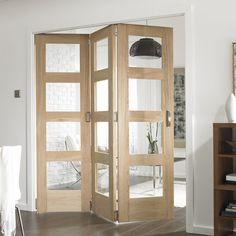 Puertas correderas plegables para aprovechar tu casa al máximo #hogarhabitissimo #correderas #madera