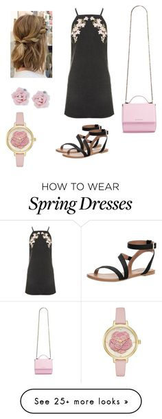 """""""Date outift"""" by vernoab on Polyvore featuring Topshop, Call it SPRING, Givenchy, Palm Beach Jewelry and Kate Spade"""