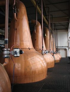 The beautiful stills at Caol Ila are enormous.