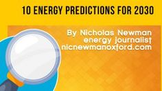 10 Energy Predictions for 2030