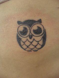 [ small owl ]