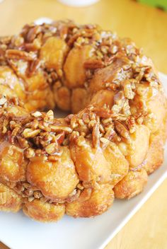 Caramel Pecan Monkey Bread ..... hello Christmas morning.
