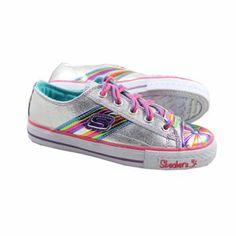 Produit en Promotion  Baskets Skechers - Rainbowli Shoes Silver