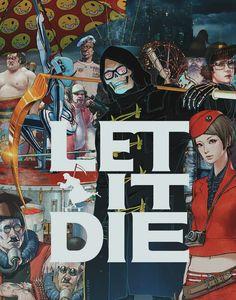 LET IT DIE. Anthology of Interest III: Nintendo, Sega, PlayStation, run by Aleks Dorohovich. Die Games, Games To Play, Die Wallpaper, I Cool, Cool Stuff, Playstation, Let It Die, Post Apocalyptic Fashion, Video Game Art