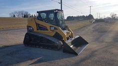 2005 Caterpillar 277B Compact Track Skid Steer Loader Cab Hydraulic Coupler Cat