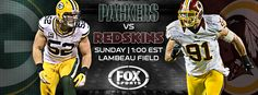 This Sunday the #Redskins return to Lambeau to face-off against the Packers. What Washington-Green Bay player match-up are you most excited for? #HTTR #LiveIt