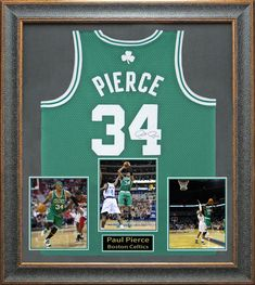 Buy an authentic Paul Pierce Autographed Boston Celtic Framed Jersey, including Paul Pierce signed photos, Paul Pierce autographed jersey, Paul Pierce collectibles. Isaiah Thomas Celtics, Pierce Boston, Celtic Pride, Framed Jersey, Larry Bird, Nba Champions, Great Team, Sports Stars, Sports Pictures