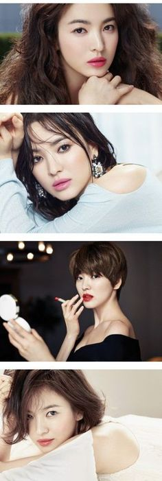 "Song Hye Kyo Looks Stunning  for Cosmetics Brand ""Laneige"""