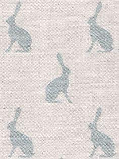 Mini Hares ~ Duck Egg Blue £43.95 - Peony & Sage