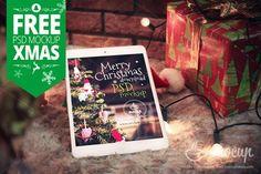 free-christmas-ipad-mockup