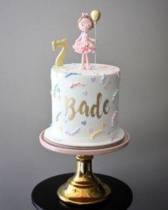 Happy birthday Bade ✨✨✨ #mutludukkan #sekerhamuru #sugarart #butikpasta Baby Girl Birthday Cake, Ballerina Birthday Parties, Baby Girl Cakes, First Birthday Cakes, First Birthday Parties, Happy Birthday, Beautiful Birthday Cakes, Beautiful Cakes, Charlotte Cake