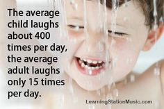 What is Laughter? It's a special gift given to us to make us feel better! And while we laugh we forget about our problems, pains and daily issues. And after laughing just a short time you feel better for hours. Laughter has been proven to promote health and wellness. Children love to laugh. It just comes natural to them. Studies have proven that 20 seconds of a good, hard laugh is equivalent to 3 minutes on a rowing machine and it leaves behind a relaxing feeling. #Quote