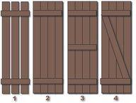 Factors to consider before building DIY wood shutters – Exterior Outdoor Shutters, Diy Shutters, Wooden Shutters Exterior, Houses With Shutters, Cedar Shutters, Black Shutters, Farmhouse Shutters, Cottage Shutters, Rustic Shutters