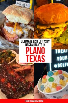 We have the Ultimate List of Tasty Restaurants in Plano, Texas ready for you to explore. Plano, Texas will surprise you with all the culinary treats they have to offer. From fun and easy to fine dining they have it all.  This must-visit foodie destination