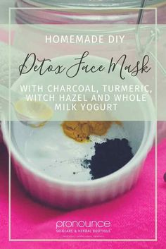 DIY Detox Face Mask