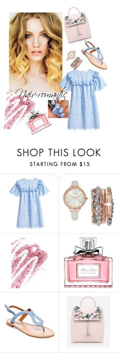 """""""Naiv -romantic"""" by molodid on Polyvore featuring мода, Jessica Carlyle, Obsessive Compulsive Cosmetics, Christian Dior, Steve Madden и CHARLES & KEITH"""