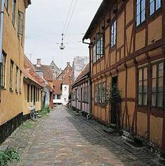 The old part of Helsingør