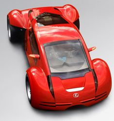 Lexus Concept car from 'Minority Report' film