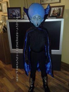 Coolest Homemade Mega Mind Costume