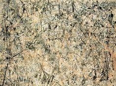 Lavender Mist : Number 1,  Jackson Pollock,1950,221 x