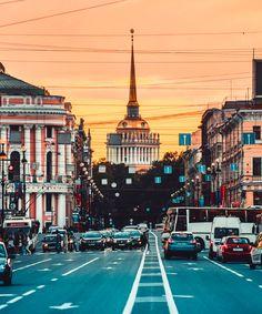 Avenida Nevsky en San Petersburgo